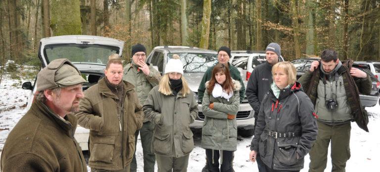 Jagdausbildung, Jagdhunde, Jungjäger, Jungjägerin, Instruktion